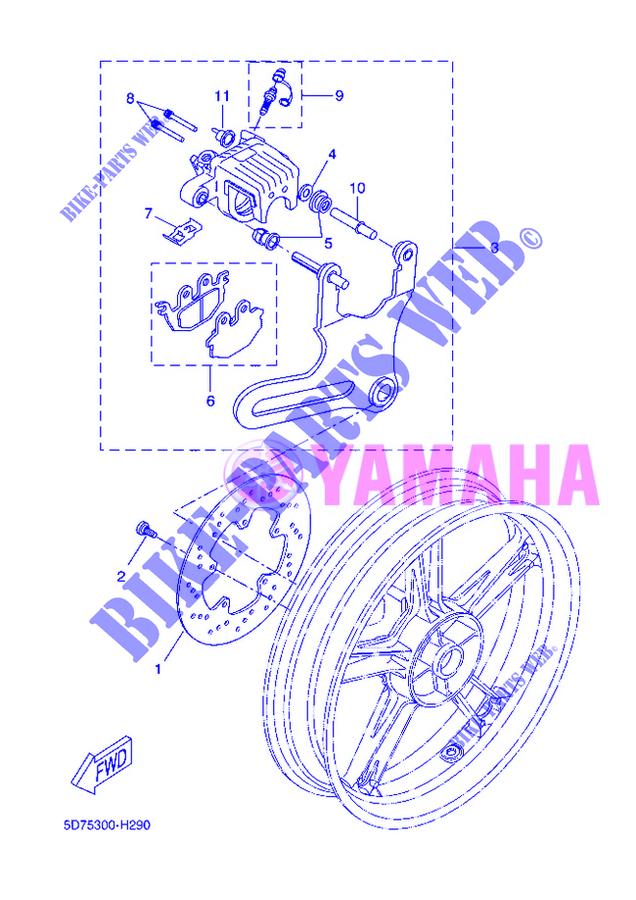 Yamaha Yzf R Parts Catalogue