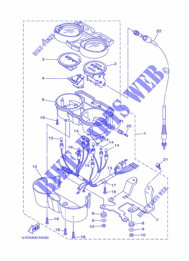 Yamaha Ybr Speedometer